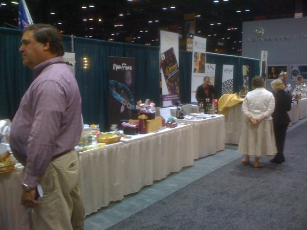 A Snapshot of the Helping Hand Rewards Booth